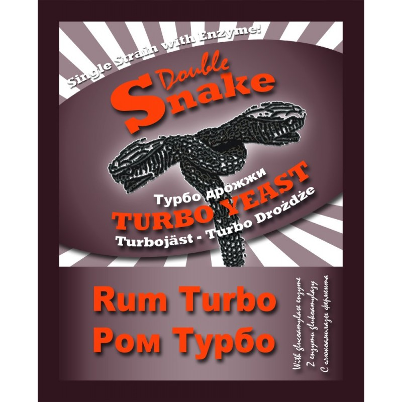 "Дрожжи ""Double Shake Turbo Rum""."